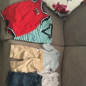 Lot of boy clothes: NB-3 months